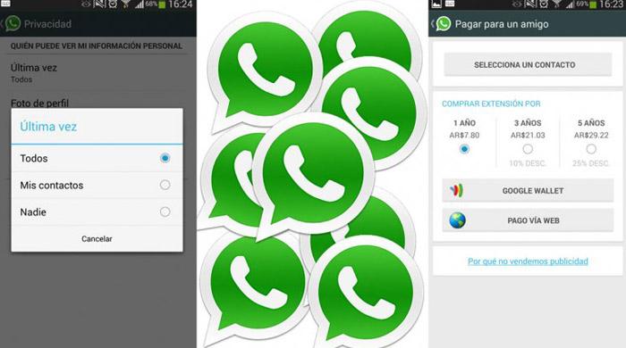whatsapp nueva actulización